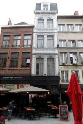 Коммерческий дом в самом центре Антверпена, Бельгия