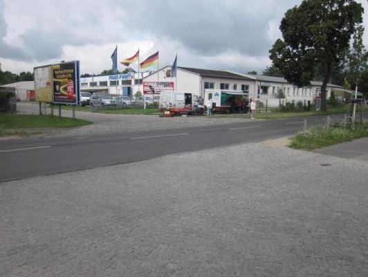 Индустриальный ангар и зем. участок в Берлине, Германия
