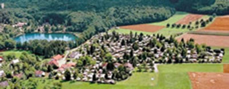 Кемпинг-городок в регионе Штуттгарта на Бoденском озере, Германия