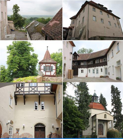 Величественный замок южнее Штутгарта с конноспортивным центром и громадным участком земли