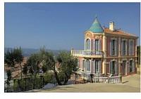 Исторический замок - вилла рядом с Ниццей, Франция
