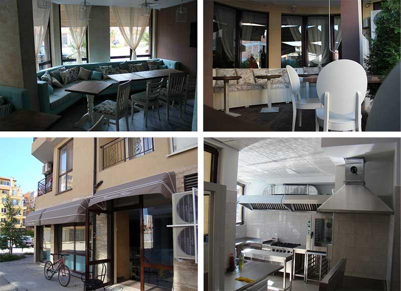 Предлагается к продаже новый ресторан в  Болгарии, в шаговой доступности от морских пляжей