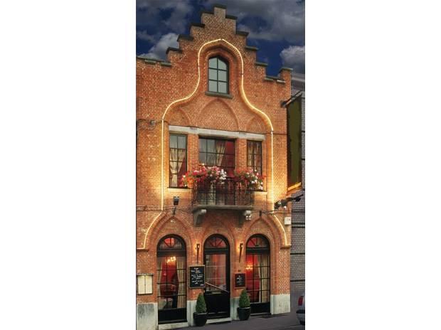 Красивый ресторан в Брюсселе, Бельгия