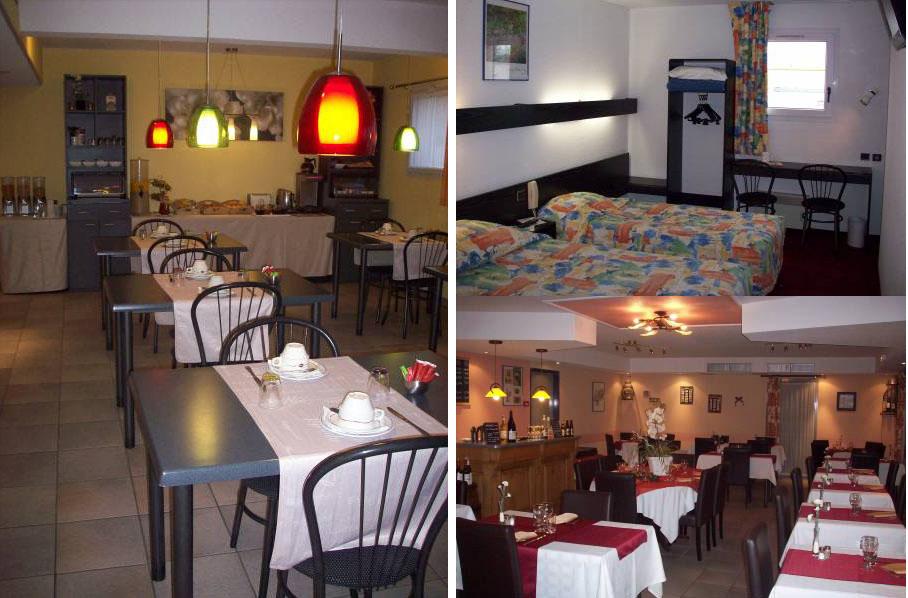 Гостиница с рестораном в 30 мин. езды от Парижа