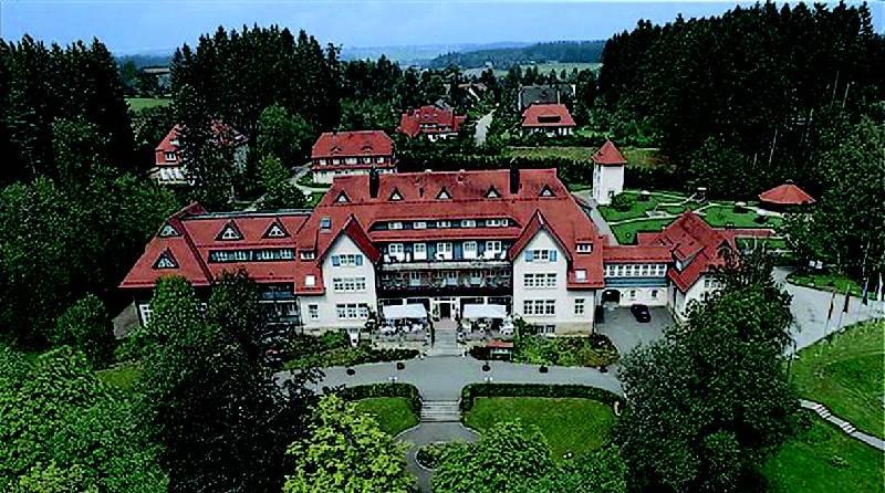 Гостиница в курортной зоне на юге Германии