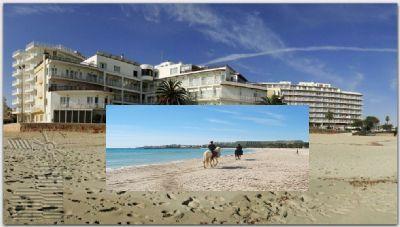 3 звездочная гостиница на первой линии моря, остров Майорка, Испания.