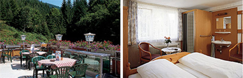 Гостиница на юге Германии в регионе Шварцвальд