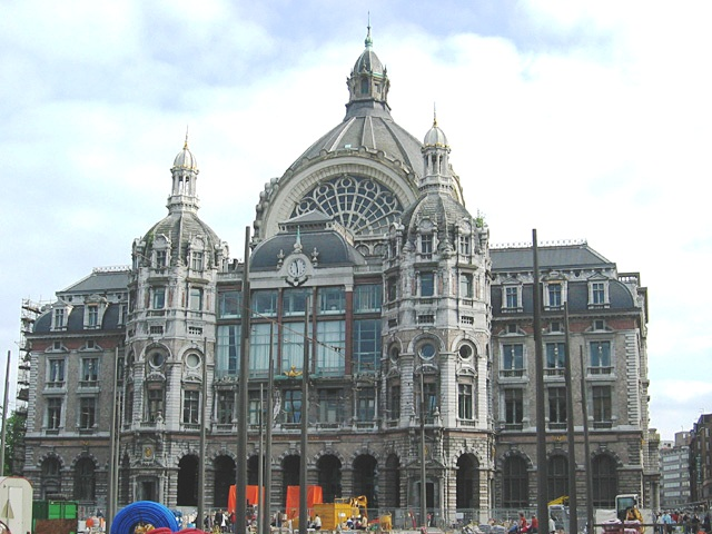 Проект гостиницы в центре Антверпена, возле центрального вокзала
