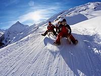 Гостиница посреди альпийских ландшафтов, Австрия