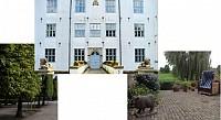 Очень ухоженный замок в Бельгии