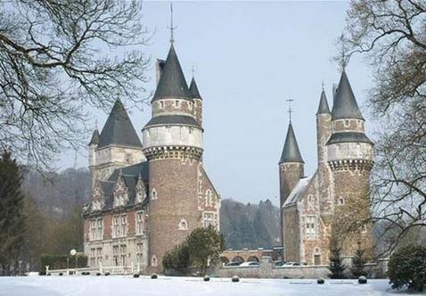 Средневековый замок в Бельгии