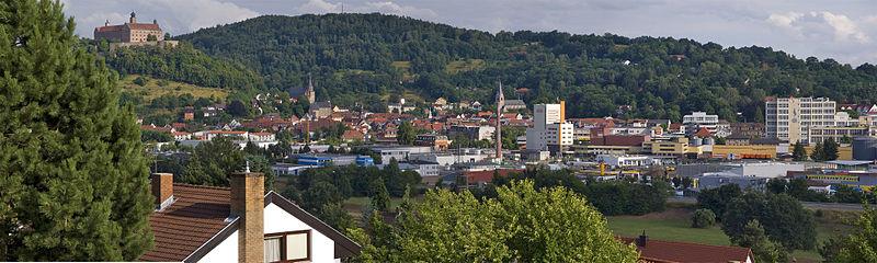 Гостиница в центре города в Баварии, Германия