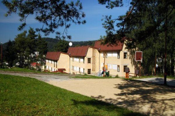 Действующий отель в курортном польском городе Крыница-Здруй