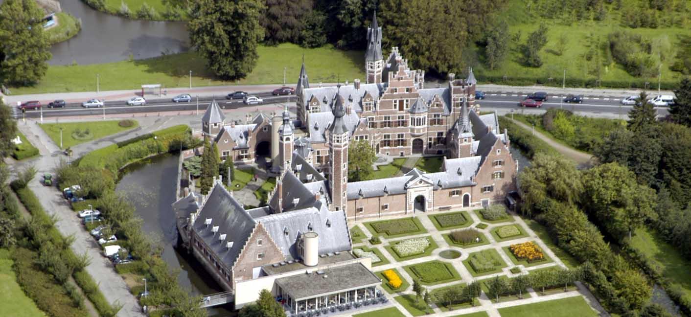 Замок рядом с Антверпеном, Бельгия