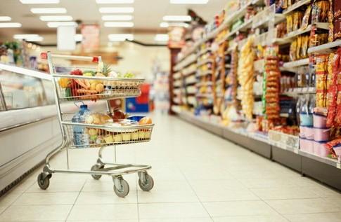Супермаркет в Баварии, Германия