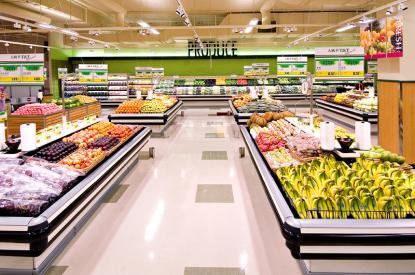 Два супермаркета в Германии