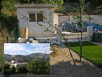 В Ницце участок земли с небольшим домиком (кабано) и прекрасным обзорным видом.