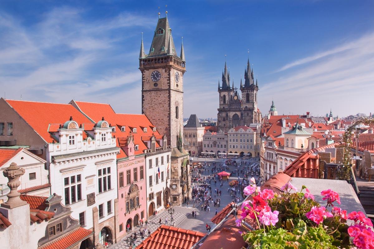 Гостиница 5 звёзд в центре Праги