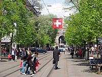 Великолепный гостиничный комплекс в районе Цюриха, Швейцария, с многочисленными коммерческими площадями, магазинами.