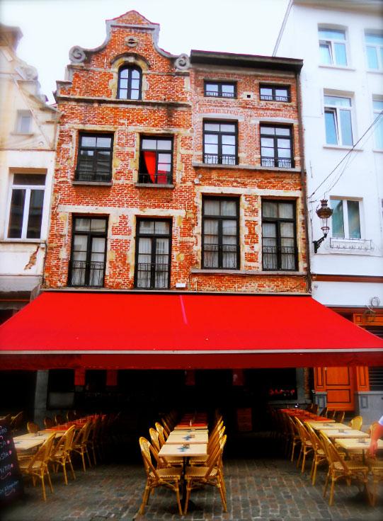 Ресторан в центре столицы Европы - Брюсселе, рядом с Гран-Пласом