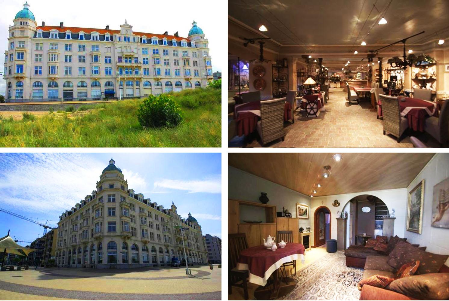 Ресторан, бар и студия на бельгийском побережье