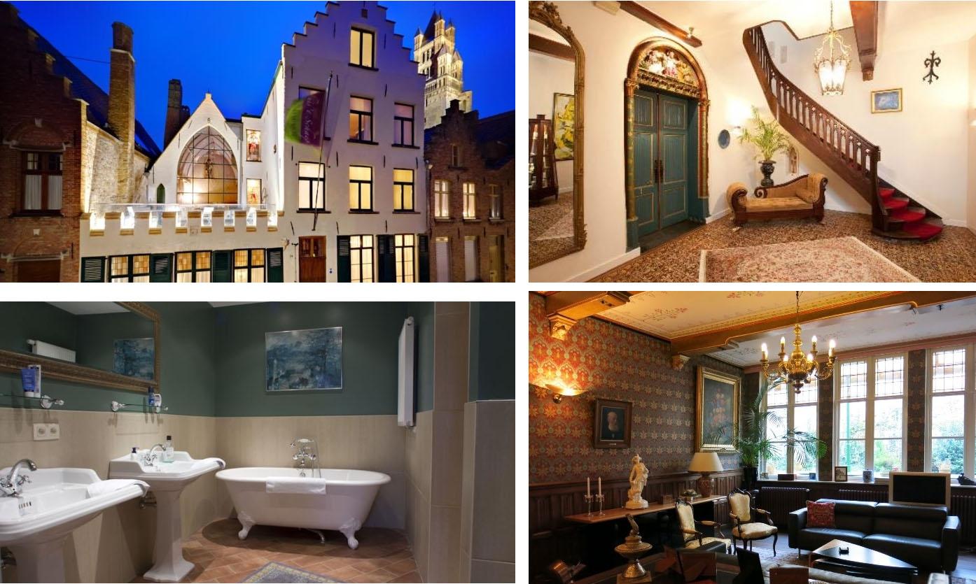 Роскошный гостевой дом - бутик-отель в центре бельгийского Брюгге