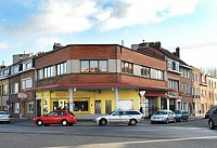 Автомастерская в Брюсселе, Бельгия