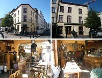 В центральной части Брюсселя таверна и 3 квартиры
