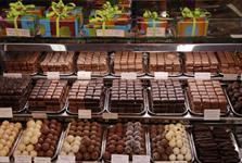 Магазин бельгийского шоколада ручной работы в Брюсселе, Бельгия