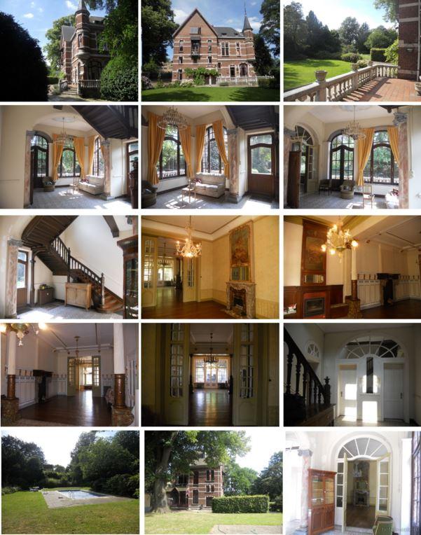 Замок в Льеже, Бельгия
