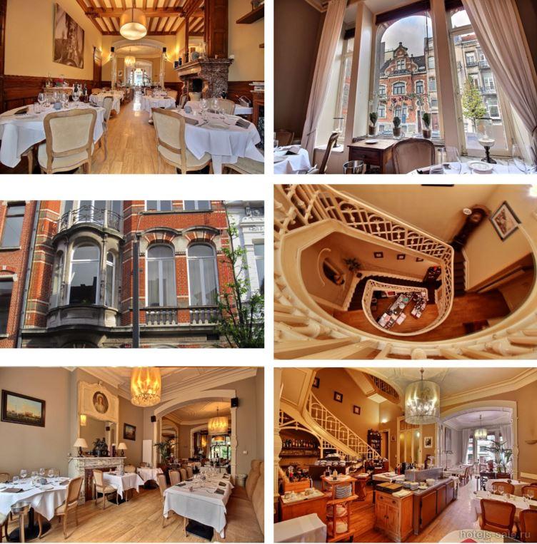 Дом c рестораном в Брюсселе, Бельгия