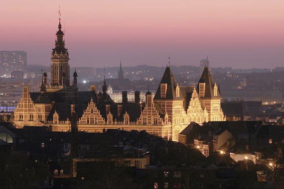Гостиница в Брюсселе, недалеко от центра и второго по величине вокзала (ж/д).
