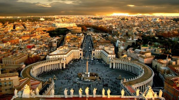 Гостиница в центре Рима, в 5-10 мин. пешком от Ватикана.