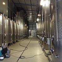 Большой винный завод в Венгрии с 390 га своих виноградников.