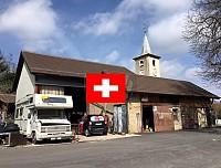 Привлекательное предложение в Швейцарии – мастерская со всем инструментом и возможностью строительства на участке.