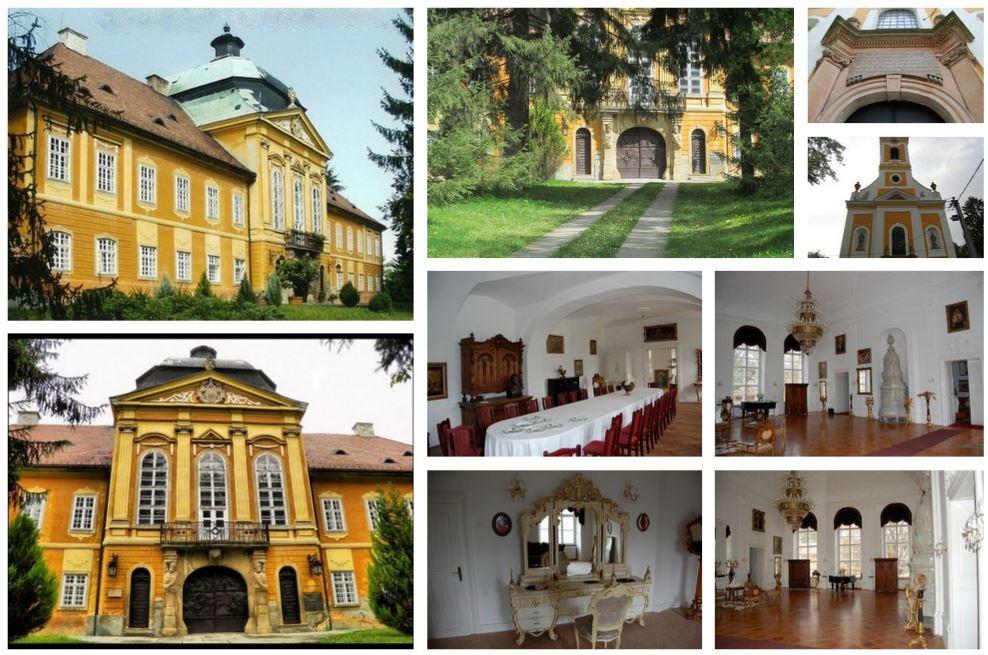 Элегантный замок в Венгрии в стиле  барокко