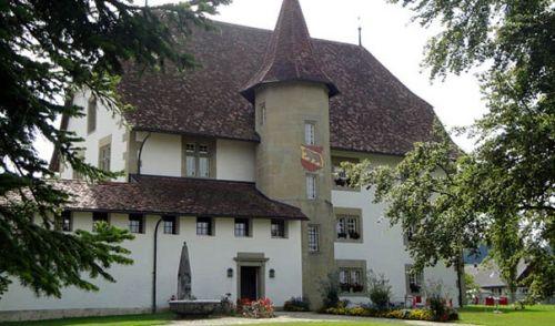 Роскошная гостиница в кантоне Берн, в Швейцарии.