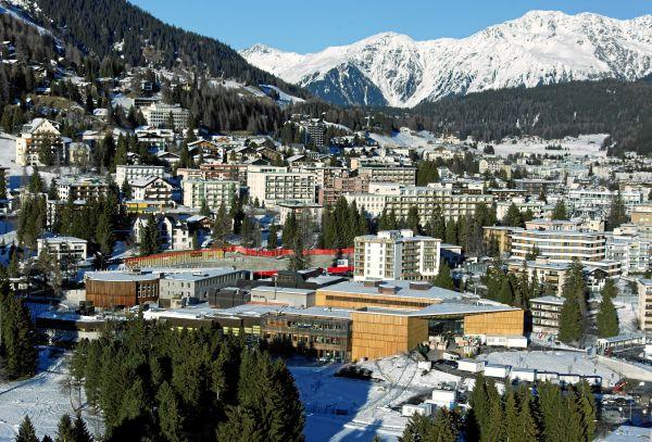 Гостиница в Давосе, Швейцария - истинная жемчужина.