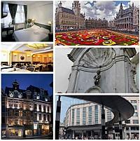 Гостиница в самом центре Брюсселя – «золотой» его части. Настолько редко, что думается, что это просто нереально и невозможно…