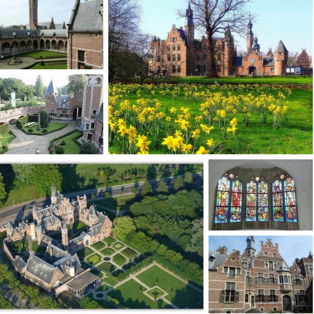 Исторический замок 16 века в Антверпене, Бельгия