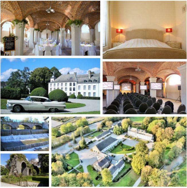 Историческое поместье с гостиницей и участком около 40 га в Бельгии.