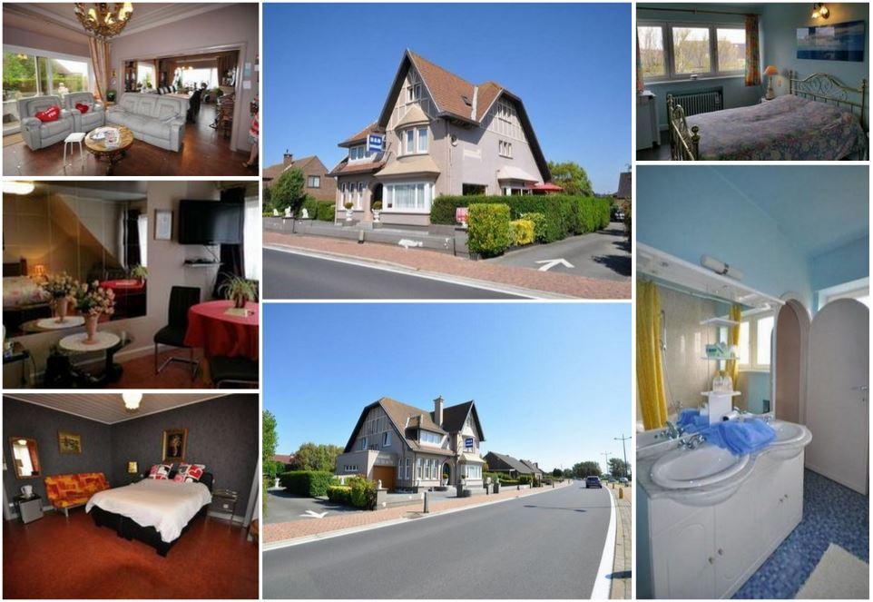 Отель на популярном морском курорте Остенде, Бельгия