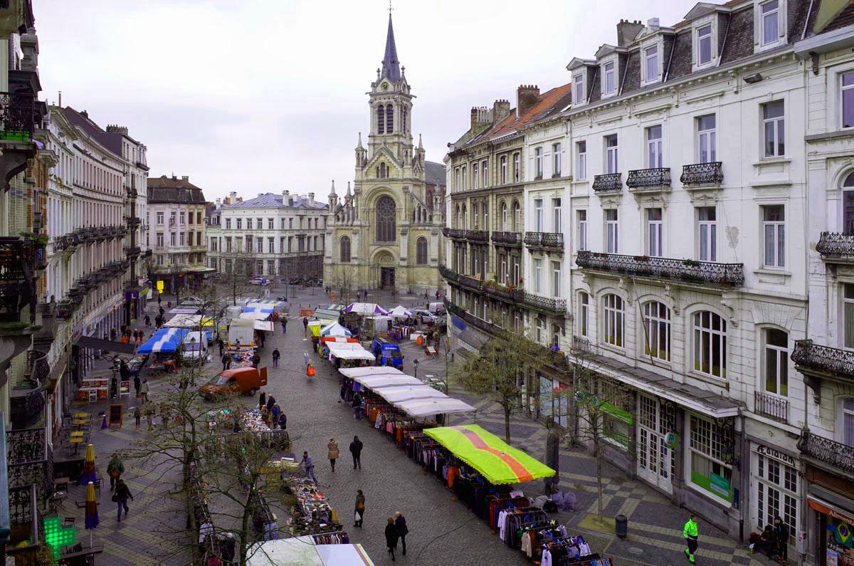 Гостиница в центральной части Брюсселя, Бельгия