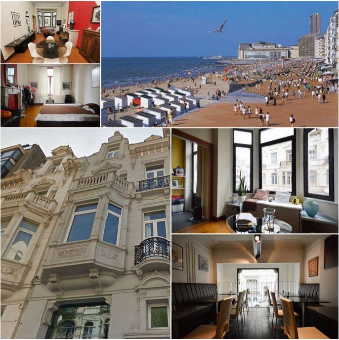 Великолепный дом с рестораном у моря в Остенде, продается на условиях пожизненной ренты, очень редко!