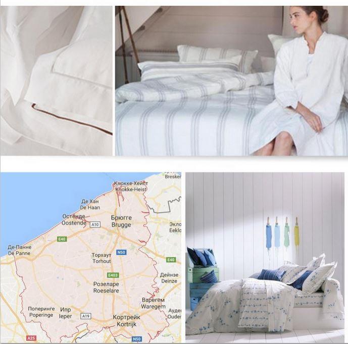 Текстильная компания в Западной Фландрии, Бельгия