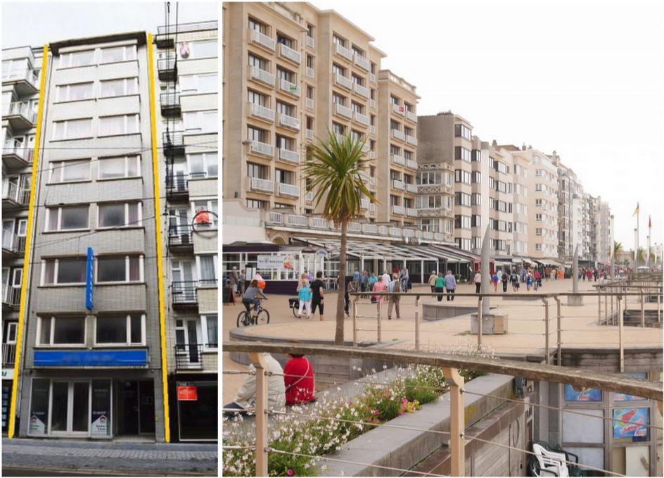 Гостиница рядом с казино и пляжами, на крупнейшем бельгийском курорте Остенде