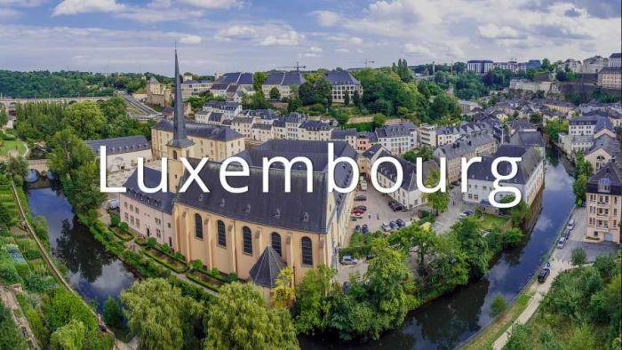Крупный банк в Люксембурге.