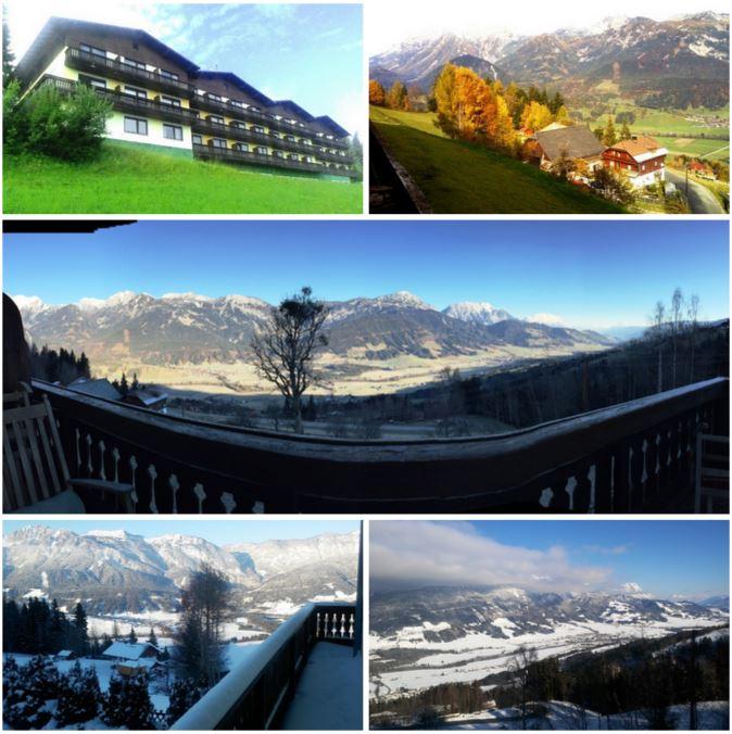 Отель в Австрийских Альпах.