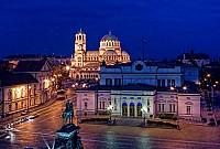 Ресторан в самом центре Софии, Болгария