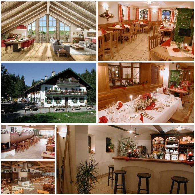 Великолепный и исключительно рентабельный дом 870 м2 с рестораном на юге от Мюнхена